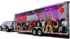 Video Game Party, Game truck, Gamer vs Gamer Birthday Party
