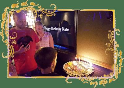 Game Truck Atlanta, Gamer vs Gamer, Cookie Birthday cake
