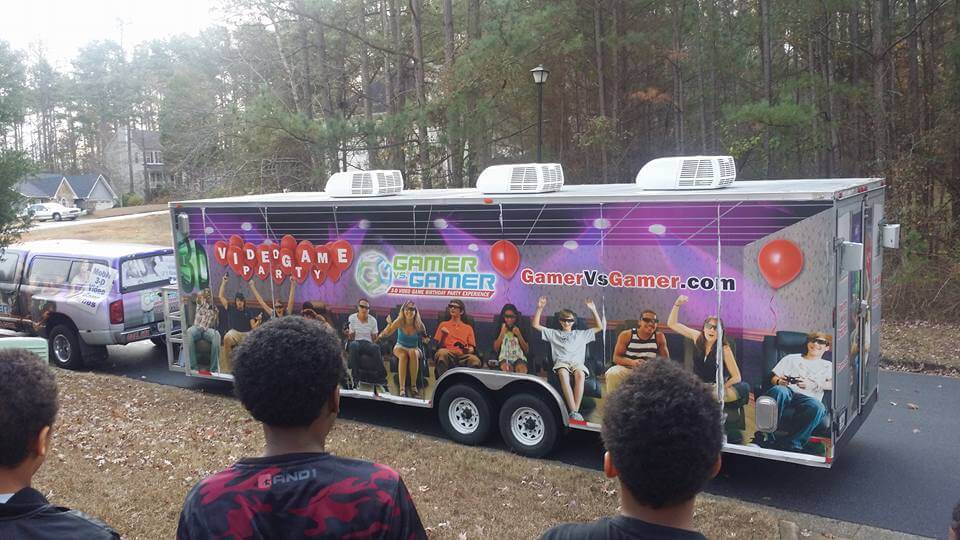 Game Truck Atlanta BY: Gamer vs Gamer Behold The Glory Of Gamer vs Gamer