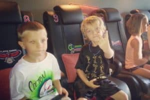 Game Truck Atlanta BY: Gamer vs Gamer Throwing out The Peace Sign
