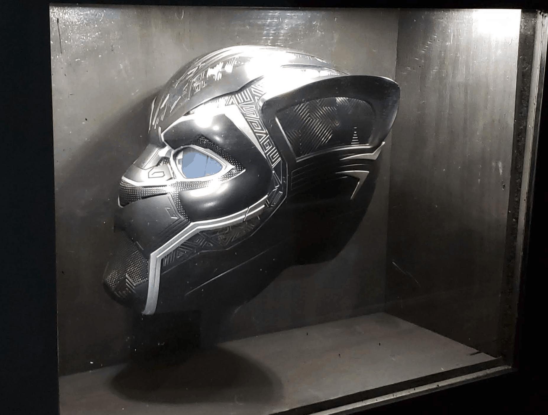 Game Truck Atlanta, Gamer vs Gamer, Black Panther Helmet