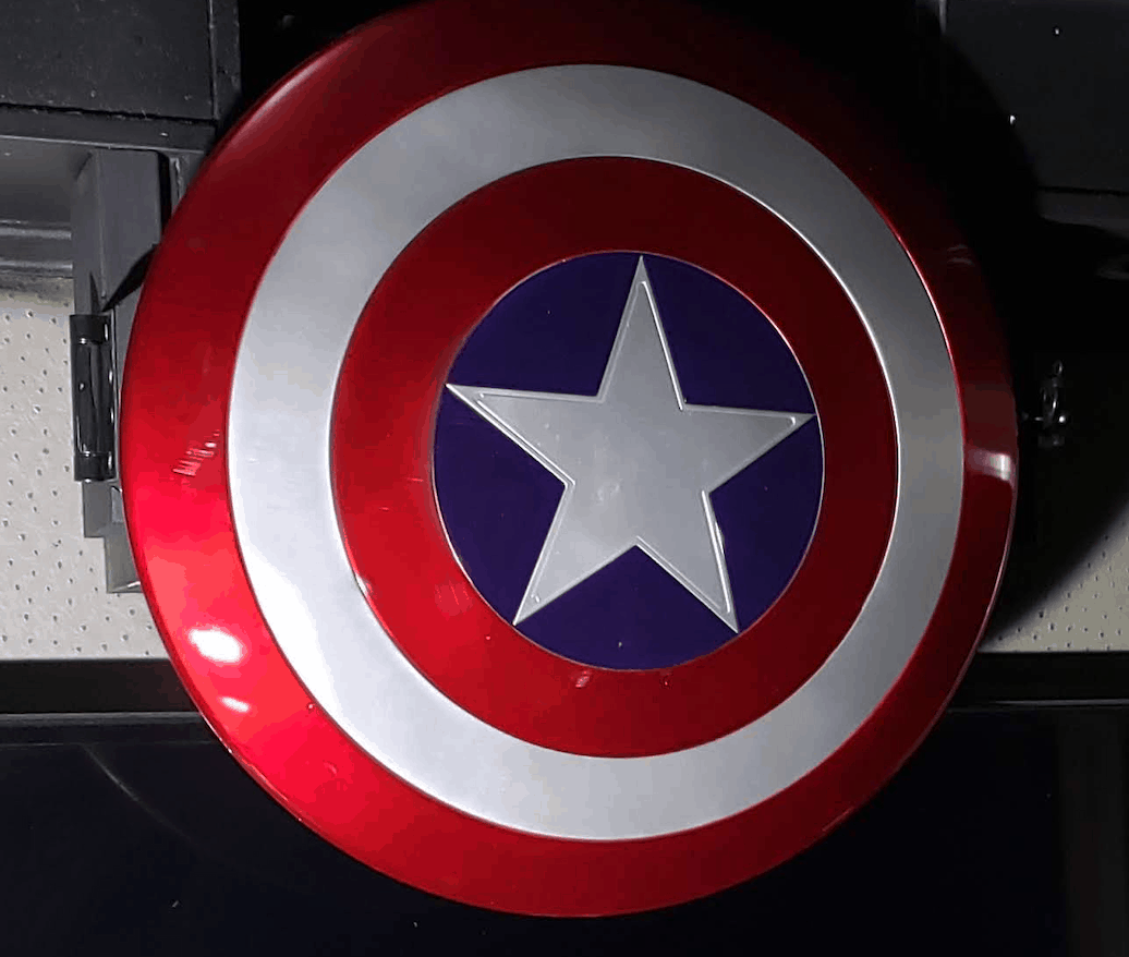 Game Truck Atlanta, Gamer vs Gamer, Captain America Sheild