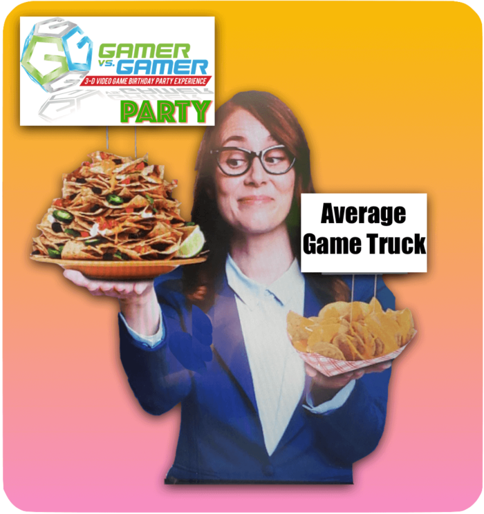 Game Truck Atlanta, Gamer vs Gamer