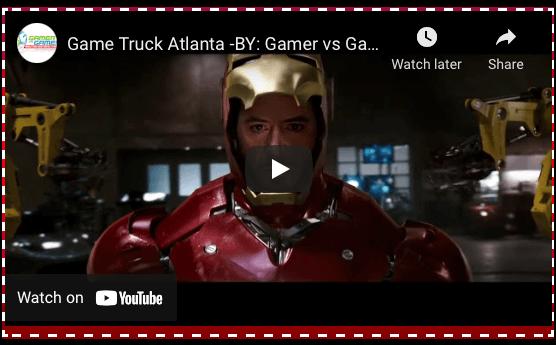 game truck Atlanta, Gamer vs Gamer, Avengers League
